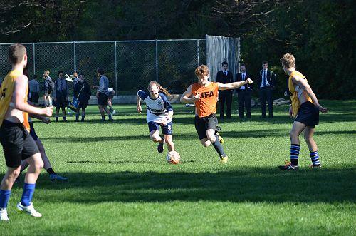 Staff v Prefects Football Match