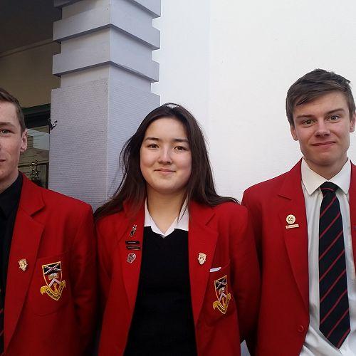 Tim, Anna-Kay and William