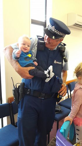 Smiles for the Community Constable