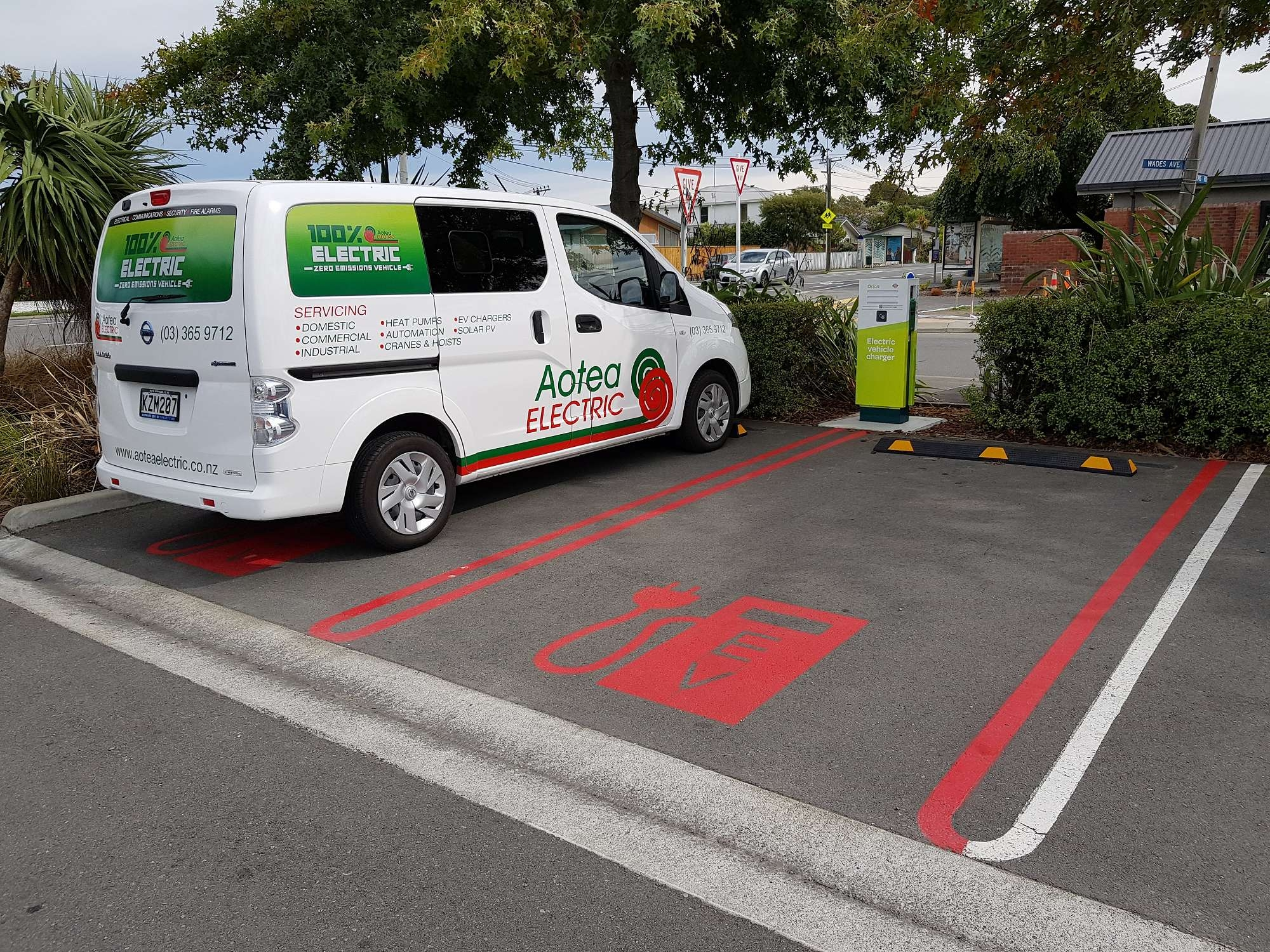 Aotea Group Leading the Charge of Electric Car Charging Sites