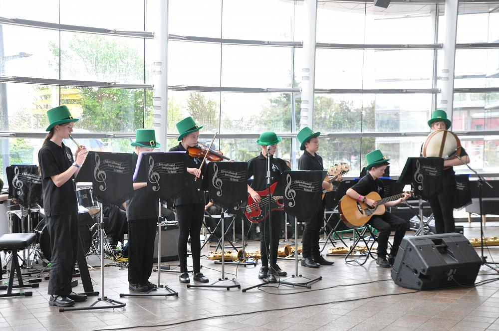 Irish band at the Art Gallery