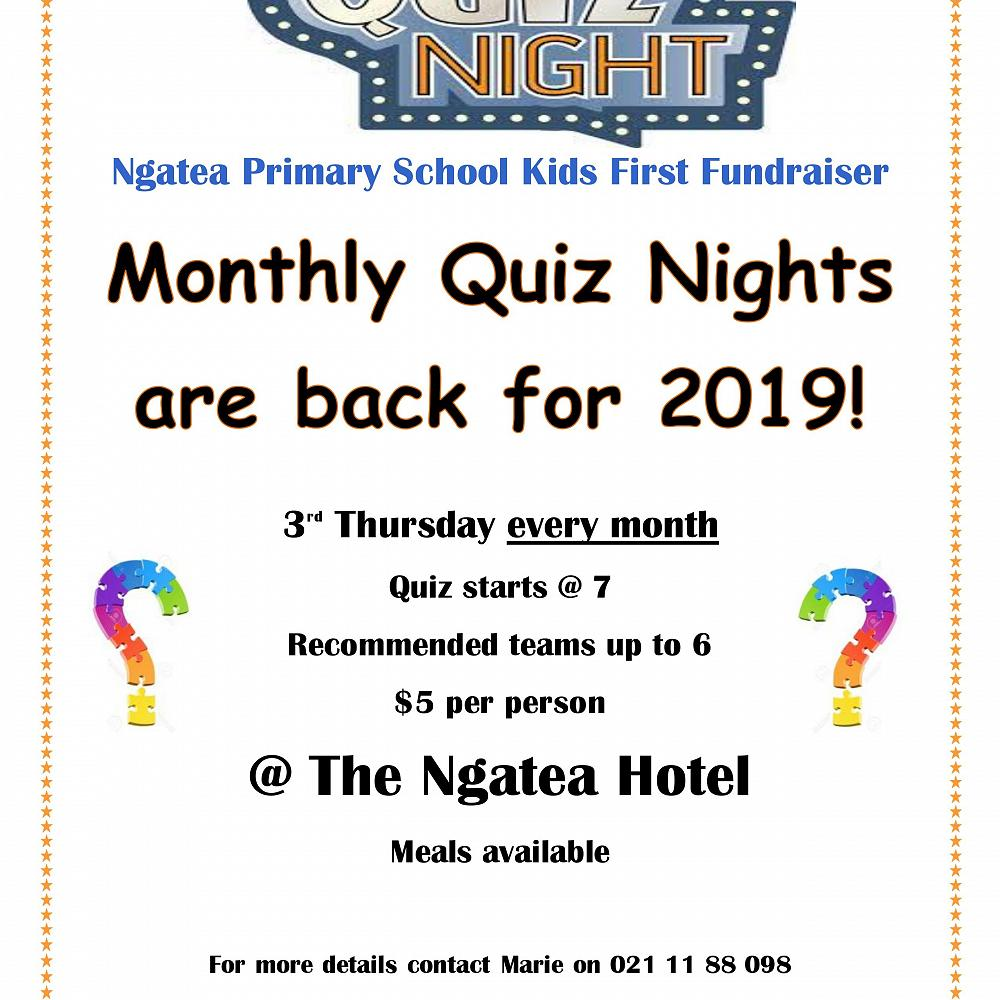 QUIZ NIGHTS - Homepage
