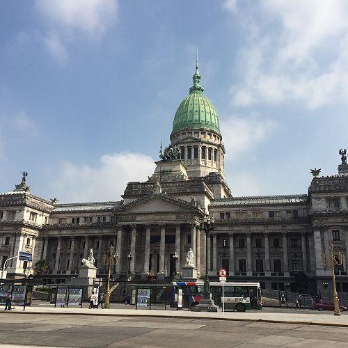 Congreso de la Nacion, Buenos Aries,