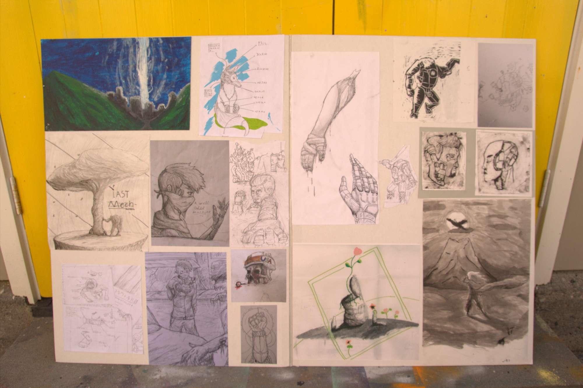 Juan Eastley-Fernandez - NCEA Level 1 Art portfolio