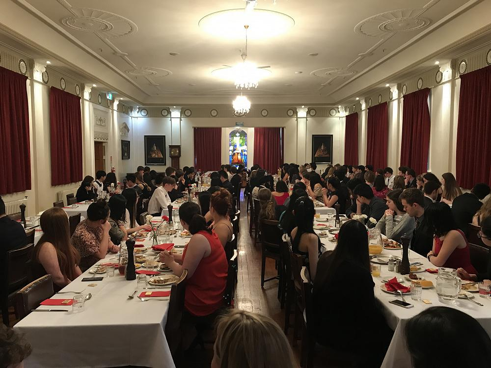 Formal Dinner on the night of the Art Competition