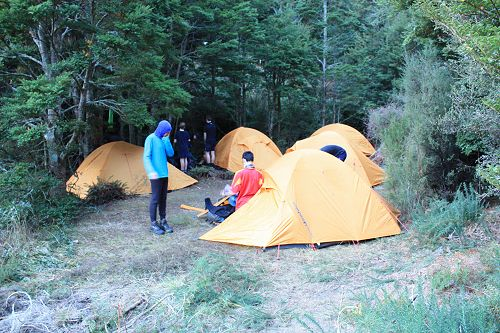 Setting up camp in a small space by Jubilee Stream