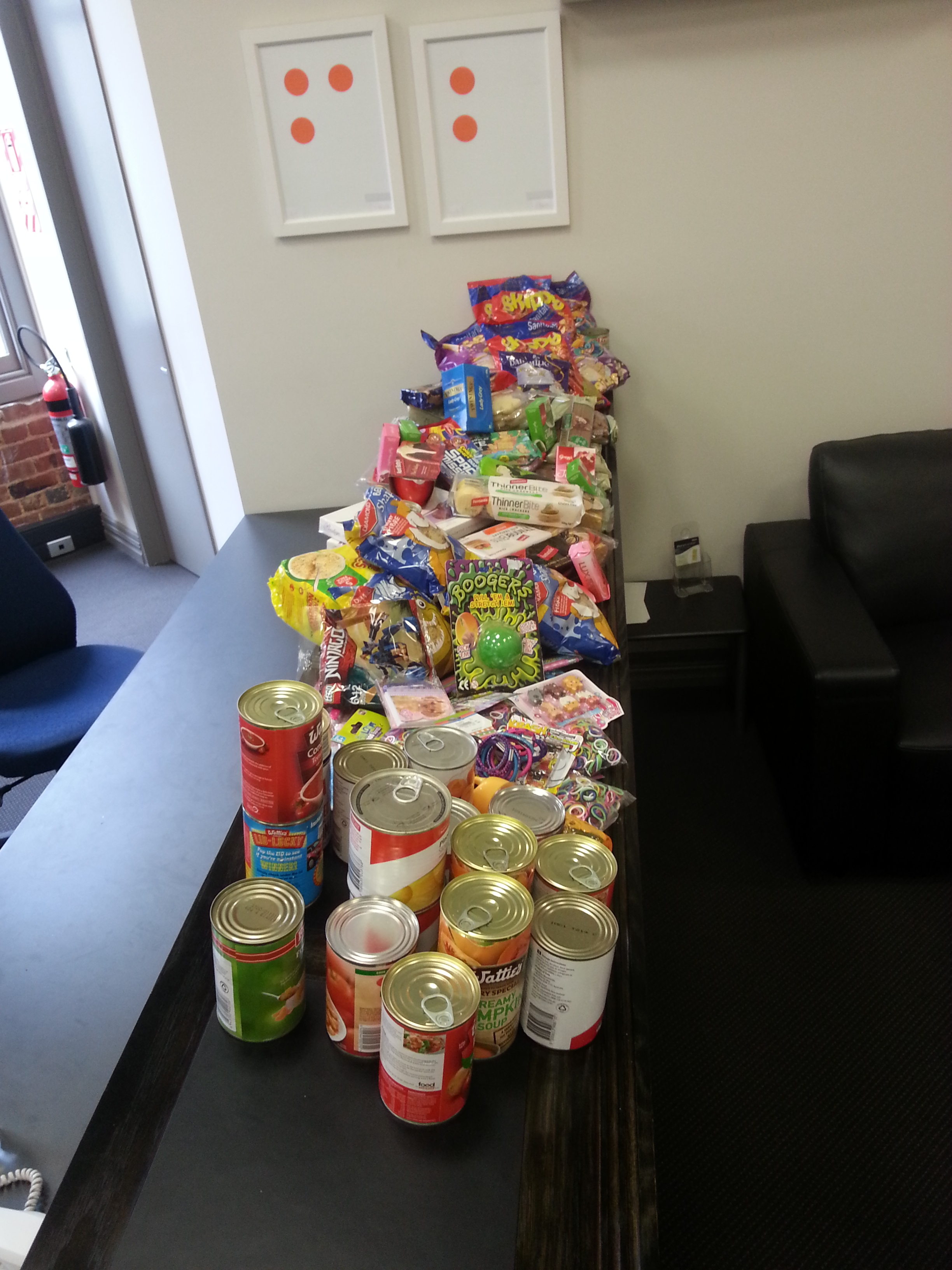 Social Club Food Bank Christmas Appeal Collection » Firebrand
