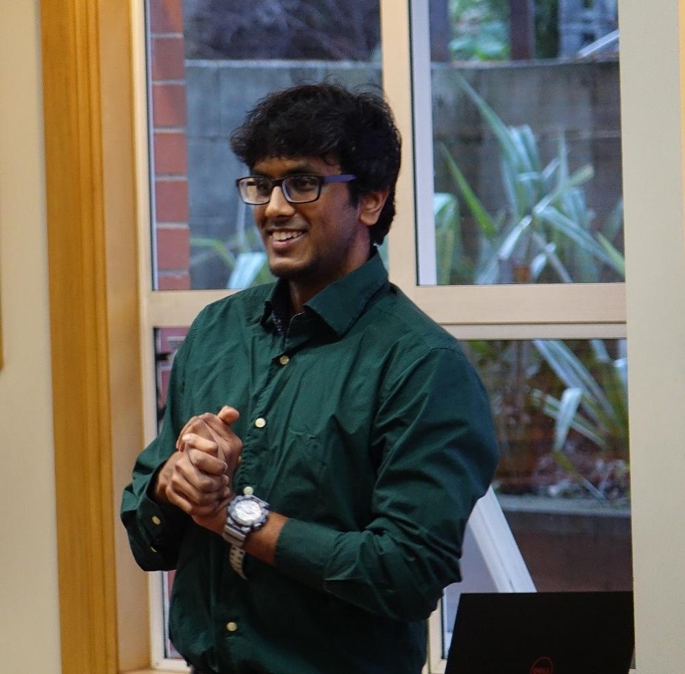 Naveen Pallavan - Reynolds Communication Cup 2017