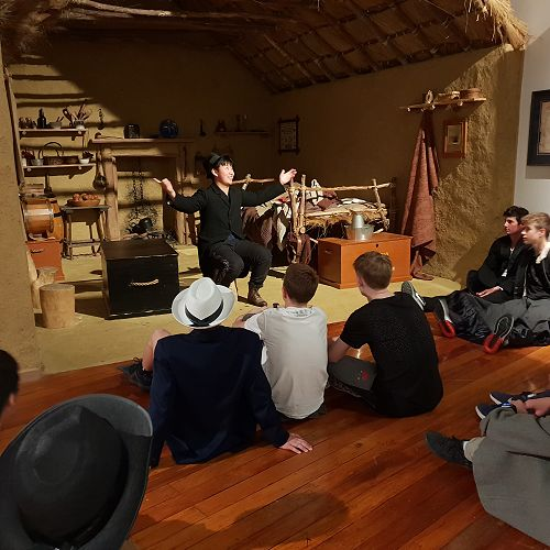 Year 10 Arts Week - Drama at Toitū Early Settlers Museum