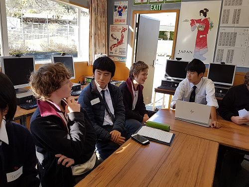 Cultural Exchange with Meikei High School Students from Japan