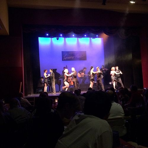 Tango show and dinner, Buenos Aries