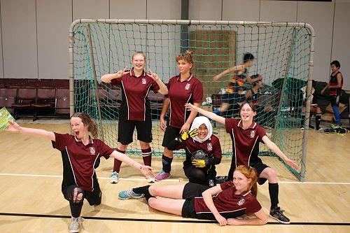 LPHS Purple Girls Futsal Team