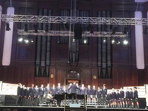 Otago Boys' High School Choir - The Big Sing 2016
