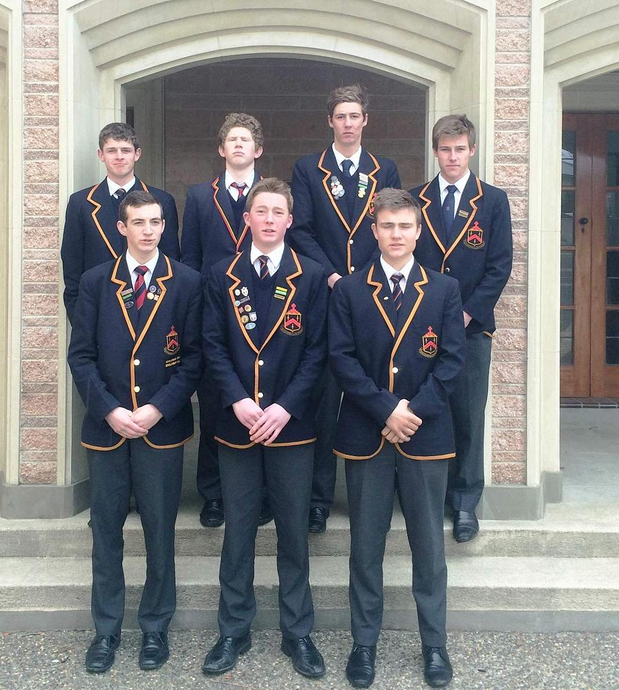 7 Boarders in the successful 1st XI Hockey