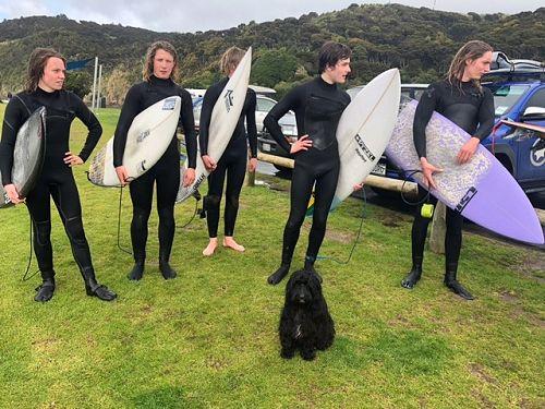 Secondary Schools Surfing Nationals - Raglan 2019