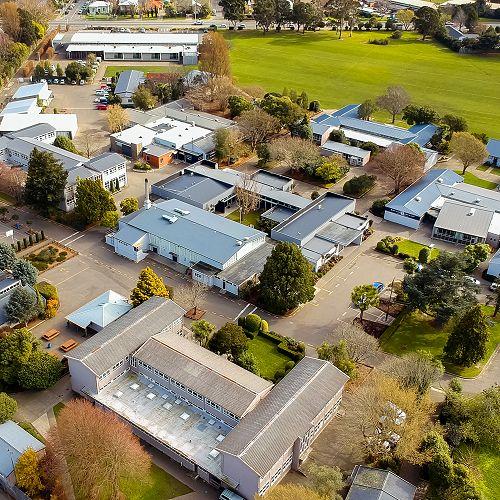 Aerial photo of RHS