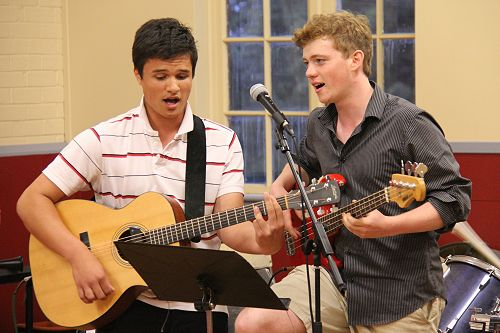 Music Camp guitar duet