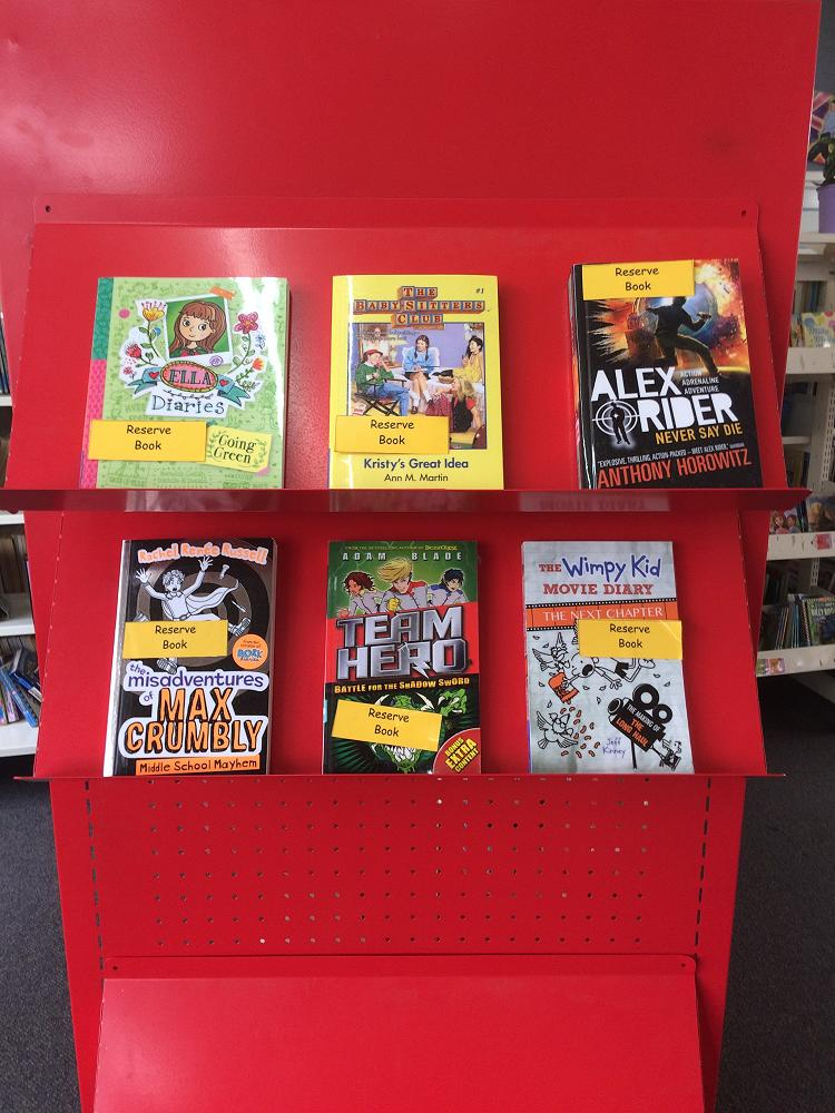Books To Reserve This Week Newsletter No9 Week 9 Term 3 2017