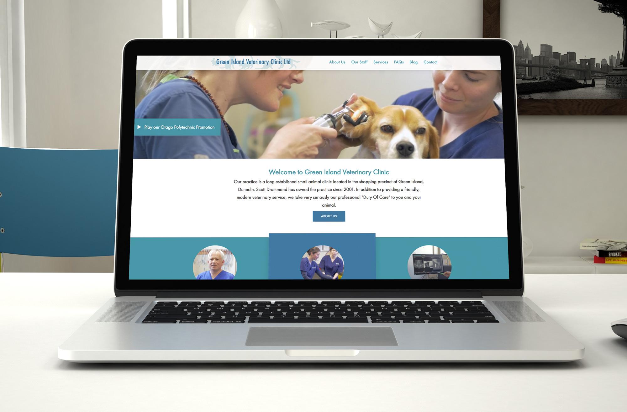 Green Island Vets Website