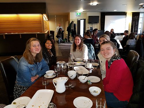 Women In Science Breakfast with Lucy Collins