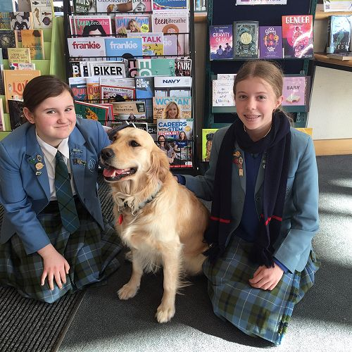 Holly Hesson and Darcia Heath with Tilly