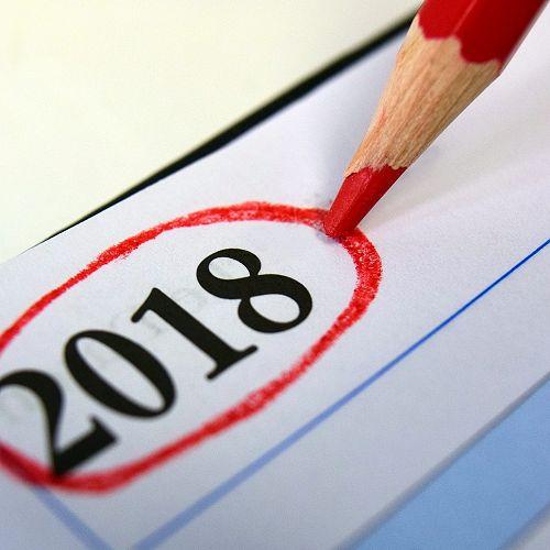Reminders 2018