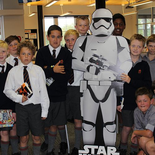 Library Invasion by Stormtrooper