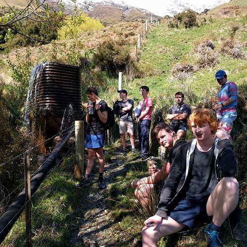 Sustainability Group - Trip to Mt Aspiring