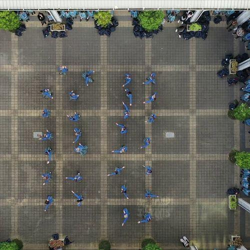 Video: Flash Mob Dance - Drone View