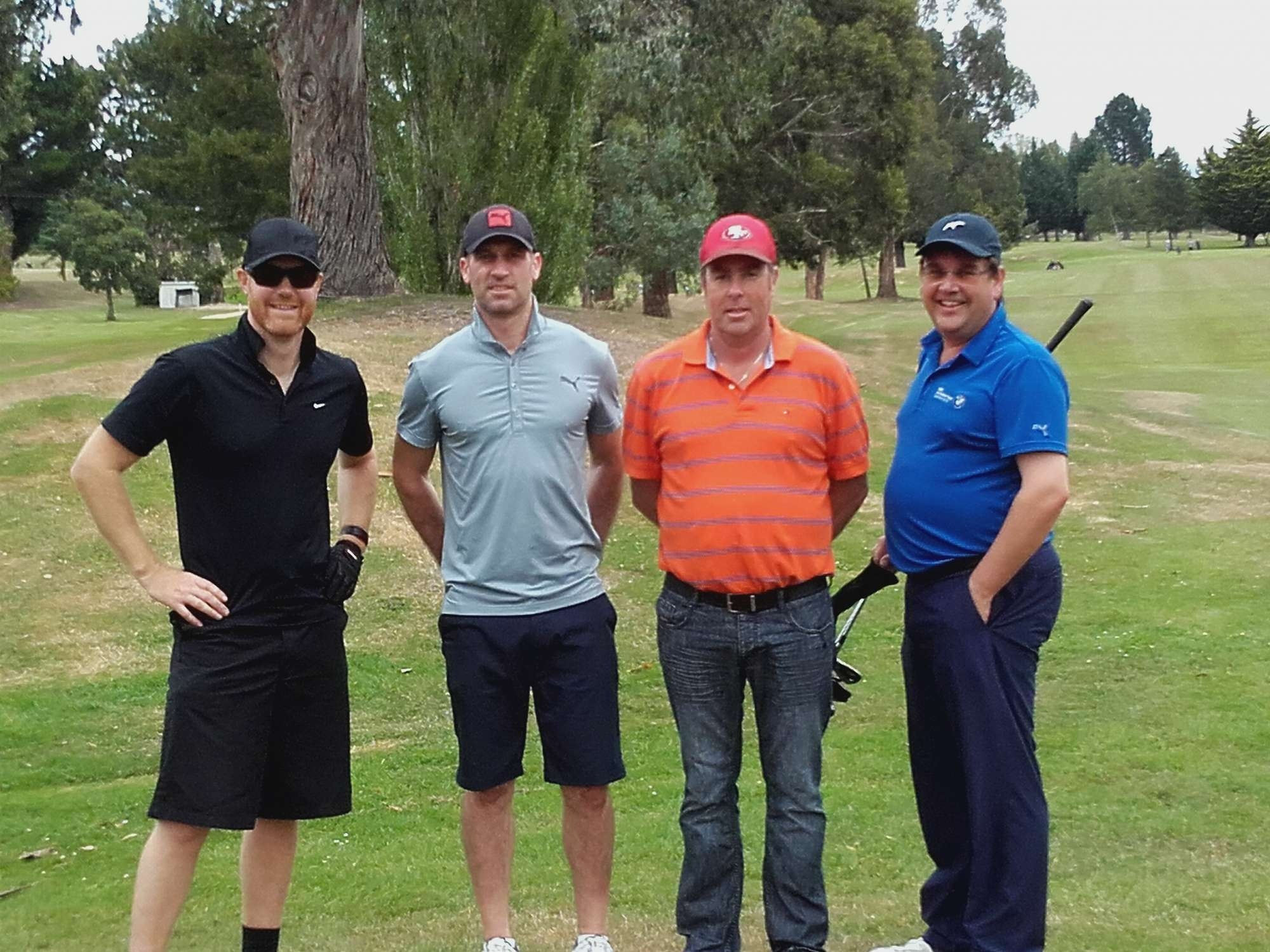 Hole Sponsors and 3rd place in Otago Chamber Golf Day.