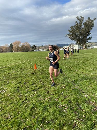 Caitlin O'Brien finishing strong