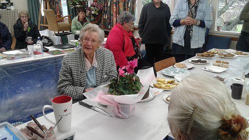 June Faid turns 90