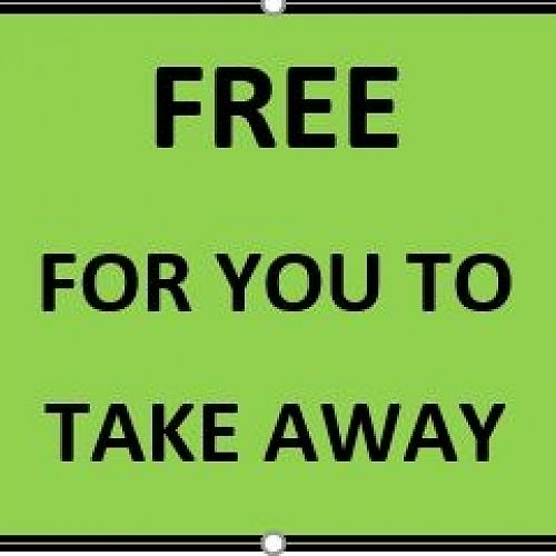 Free for you to take away