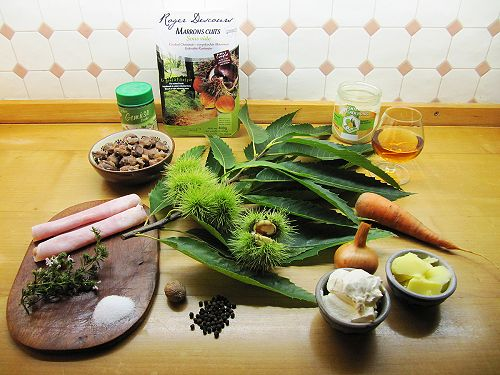 Chestnut Soup Ingredients