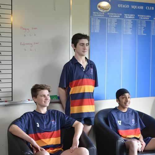 Otago Top Schools Squash Competition