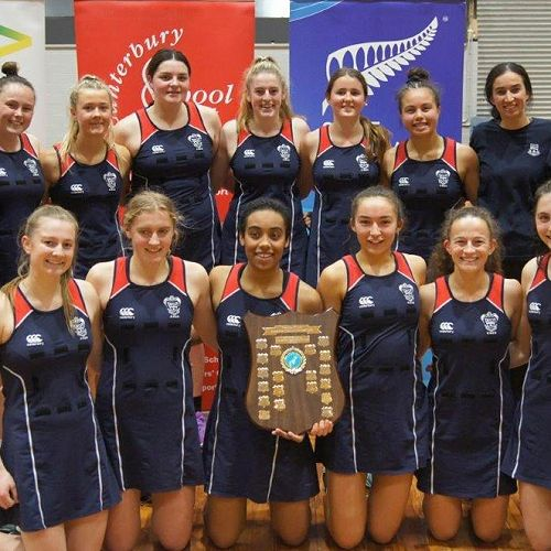 CGHS A Netball Team, Winners of the Supernet Competion