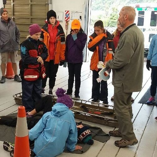 SAR lessons at Mt Cook