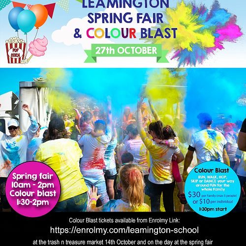 Spring Fair Colour Blast
