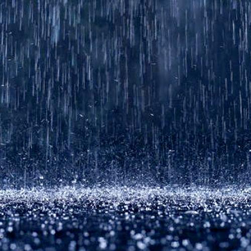 A raindrop