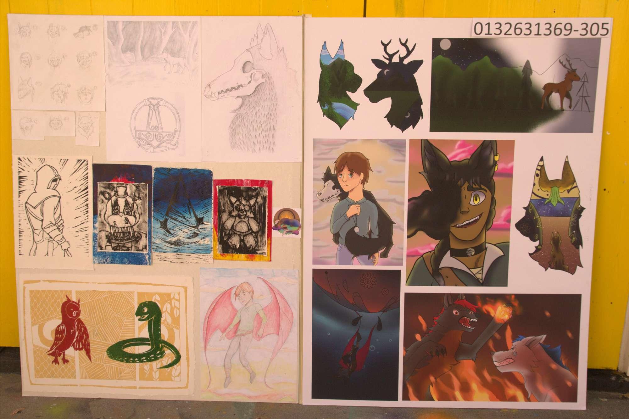 Ellen Pearson - NCEA Level 1 Art portfolio