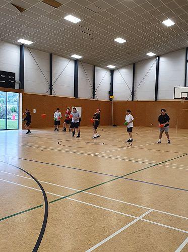 Staff vs Students Dodgeball 19/06/20