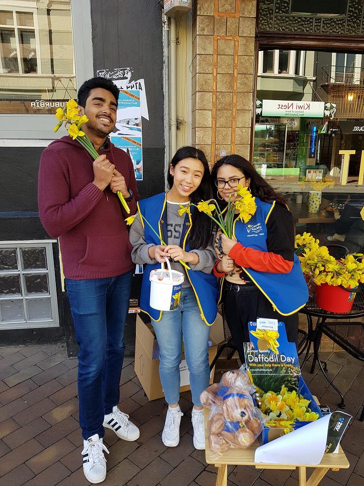 Daffodil Day volunteering, 30/8/19