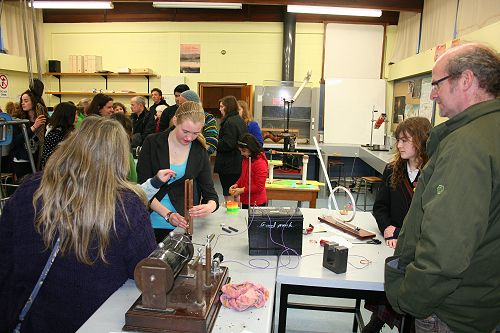Open Day - Science display