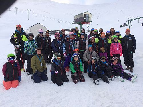 Ski Academy - 1st day on the snow!