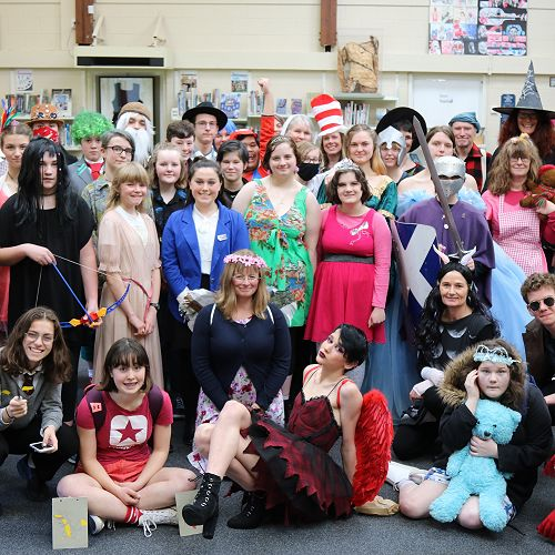 Library Week - 'Once Apon a Time' Mufti Day