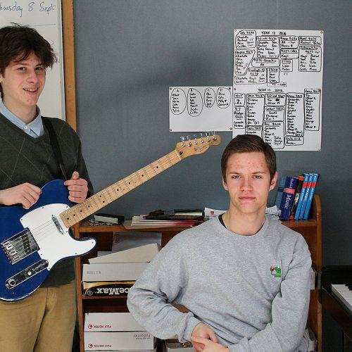 Talented Musicians off to Jazz School
