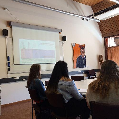 Year 12 & 13 Gender Studies classes attending University of Canterbury