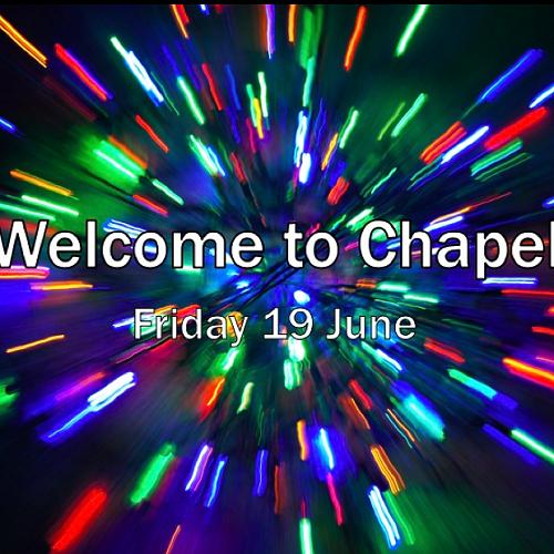 Celebrating the Return to Chapel