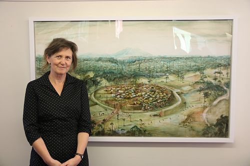 Art Work Presented and Dr Barnett farewelled