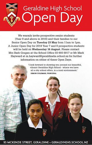 GHS Open Day